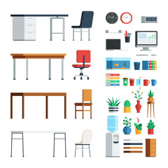 Office furniture and appliances