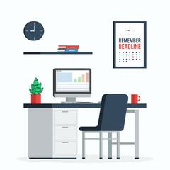 Workplace deadline concept