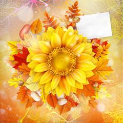 Autumn Concept Background. EPS 10