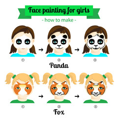 face painting for girls 2