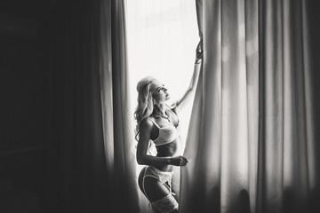 Beautiful young women underwear