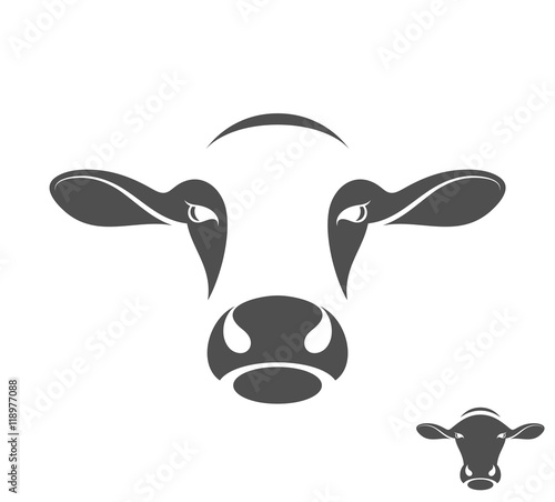 quotcow logoquot stock image and royaltyfree vector files on
