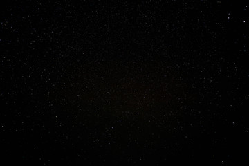 Natural Black Night Sky With Bright Stars Background Texture