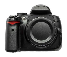 Corpo macchina fotografica fotocamera reflex nera