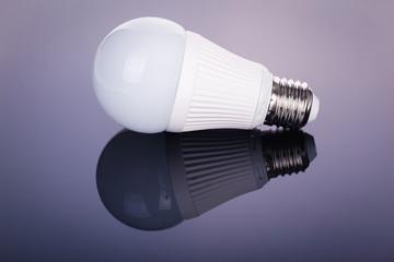 Led lightbulb reflection