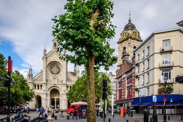 Place Sainte Catherine à Bruxelles
