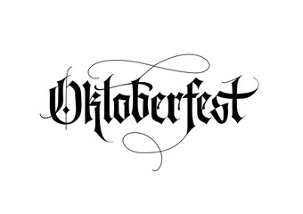 Oktoberfest Lettering 1