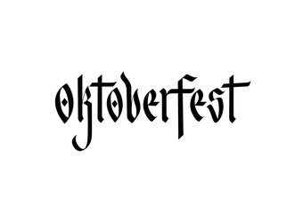 Oktoberfest Lettering 4