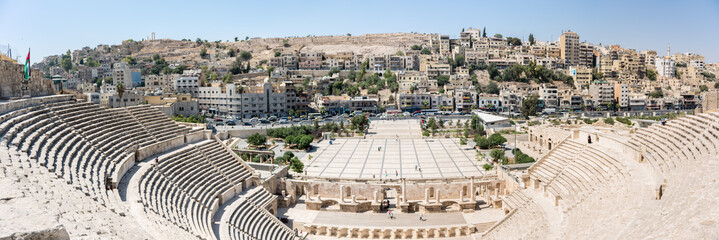 The ancient Roman theatre of Amman