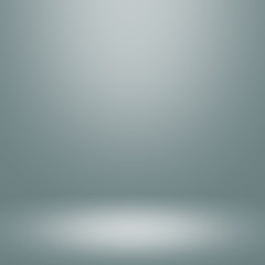 Abstract gradient grey room - display your products