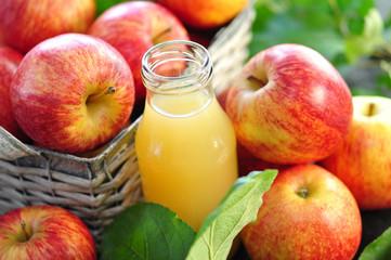 Äpfel Saft
