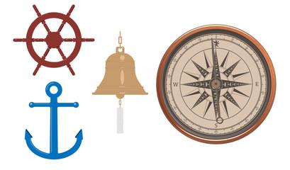 Sailing Vectors Set of Four