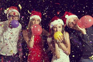 Fotobehang Carnaval Balloons