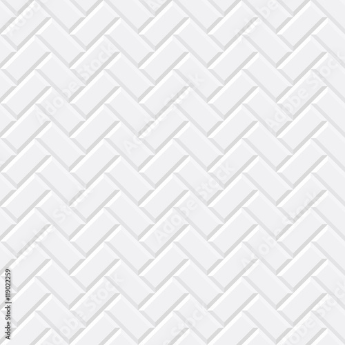 Quot White Tiles Ceramic Brick Diagonal Seamless Pattern