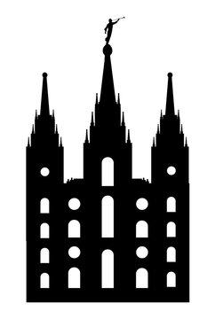 Mormon Style Temple