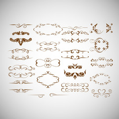 Flourish Decorative Design Elements