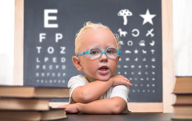 Близорукость большие глаза