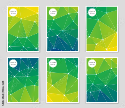 """""""Abstract Vector Layout Background For Web And Mobile App"""