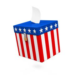 USA Ballot Box