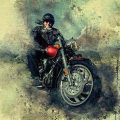 Freiheit auf dem Bike