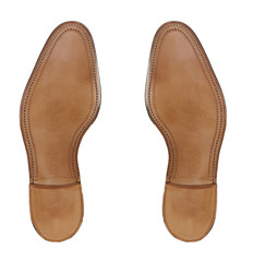 Rubber sole of a men's shoes