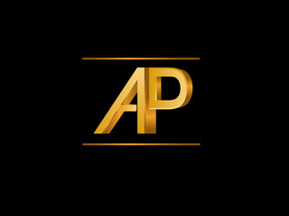AP Initial Logo for your startup venture
