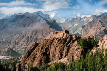 Baltit Fort in the Hunza valley, Pakistan