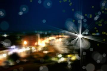 abstract light manipulations