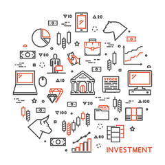 Round line concept for investment