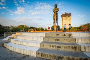 The Lapu Lapu Monument at Rizal Park, in Ermita, Manila, The Phi