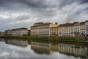 Embankment in Florence