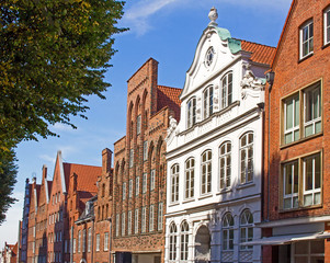 Lübeck Altstadt Mengstraße