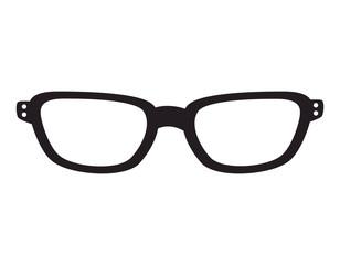 glasses fashion eyewear hipster style accessory vector illustration