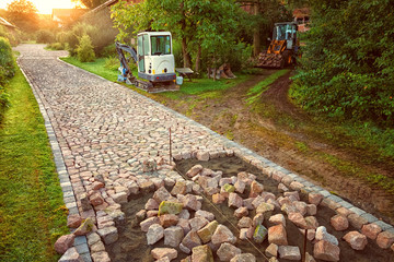 Paving with Natural Stone