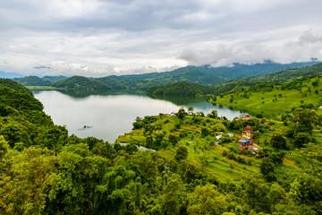 Begnas Lake in Nepal