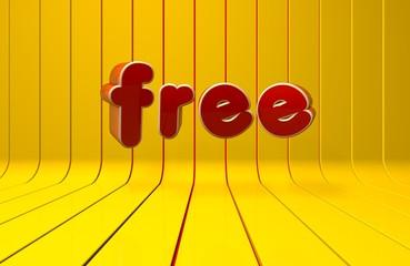 Free, Internet, 3D