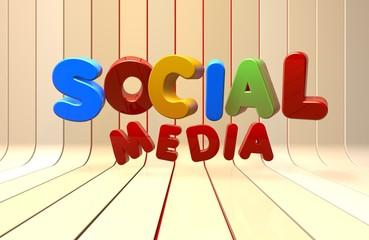 Social Media, Internet, Background