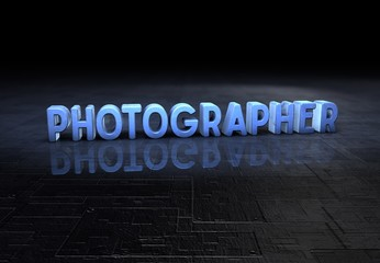 Photographer, 3D