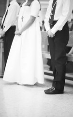Catholic first communion ceremony
