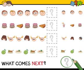 pattern activity for children