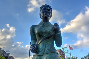 Harriet Tubman Memorial Statue -  Harlem, New York