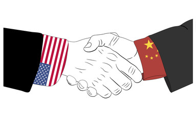 The friendship between USA and China