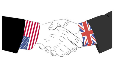 The friendship between USA and United Kingdom