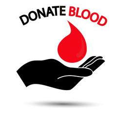 логотип,донор крови