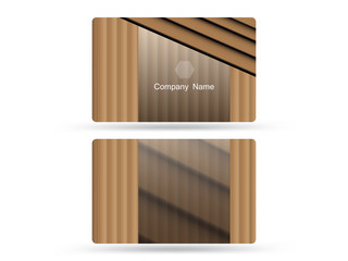 business card design boards vector