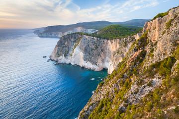 Greek island Zakynthos in the Ionian Sea