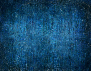 Abstract Mysterious Dark Blue Background