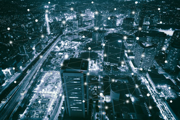 Smart city scape and network