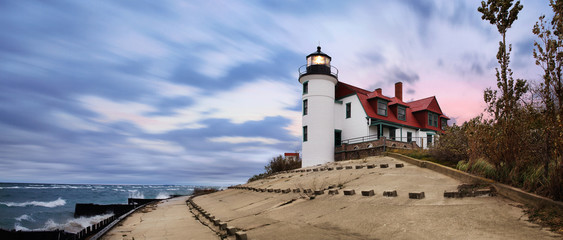 Point Betsie Lighthouse Wall mural