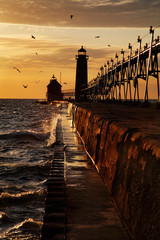 Grand Haven South Pierhead Lighthouse